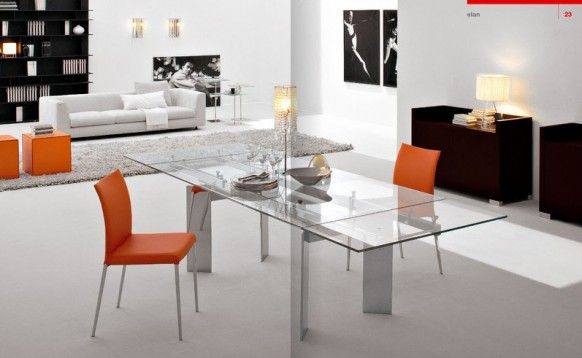 Esszimmer  Cattelan Italia orange