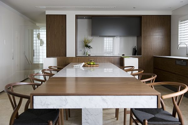 Kitchen Table Island Eating Area