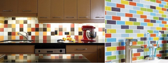 Mosaic Splashback Tiles Kitchen Uk