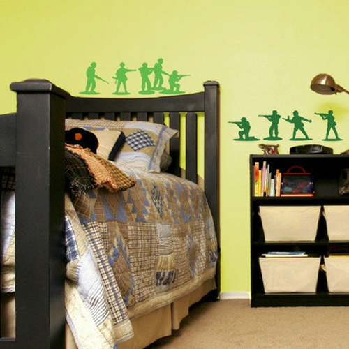 10 interessante wand deko ideen f r jungen kinderzimmer wandsticker. Black Bedroom Furniture Sets. Home Design Ideas