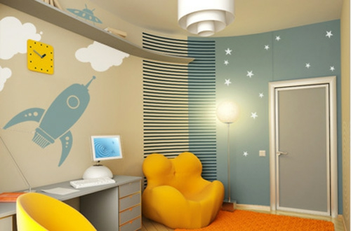 wall with wallpaper for the nursery joy studio design gallery best design. Black Bedroom Furniture Sets. Home Design Ideas