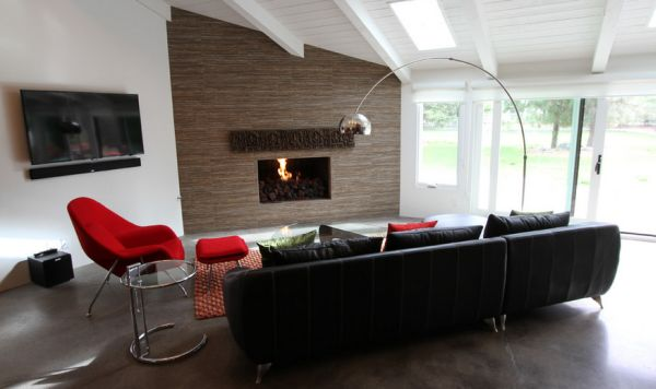Eingebung Stuhl aus Hollywood lampe rot couch