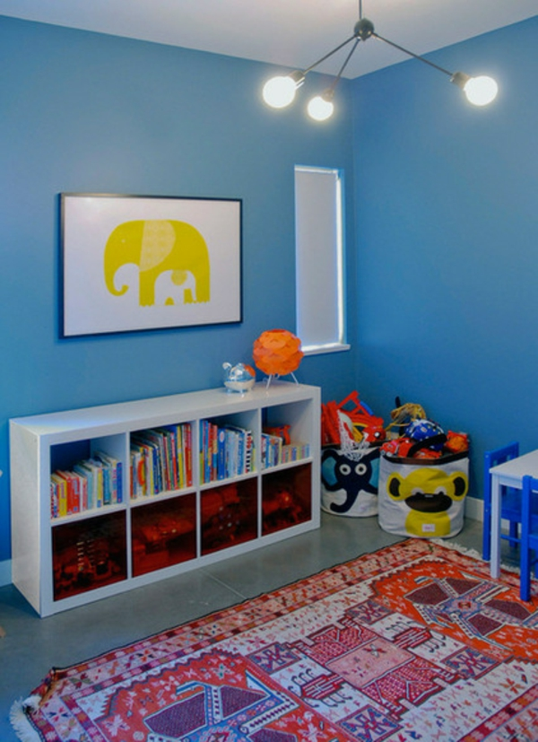 Smart Haus Schmuck in Vancouver blau  kinderzimmer