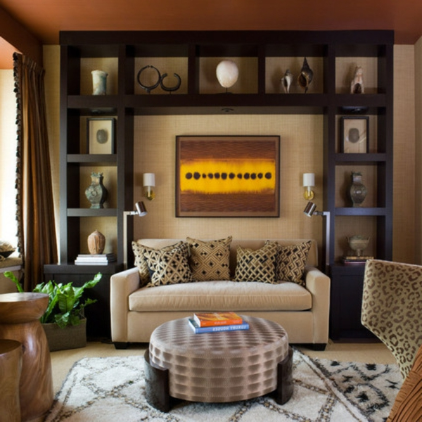 African Themes Living Room