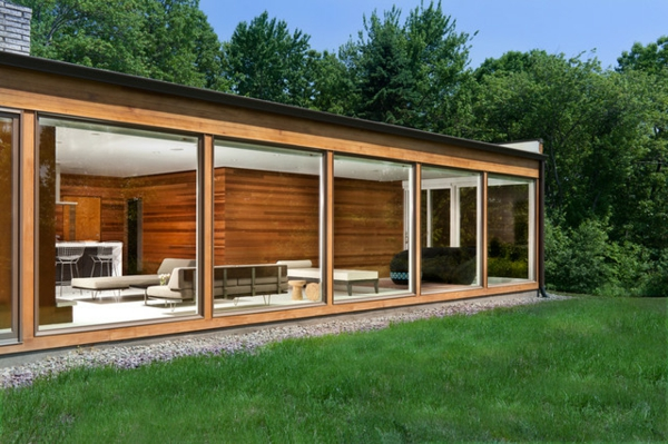 modern exterior landschaft Haus in New York