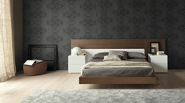wandverkleidung holz schlafzimmer. Black Bedroom Furniture Sets. Home Design Ideas