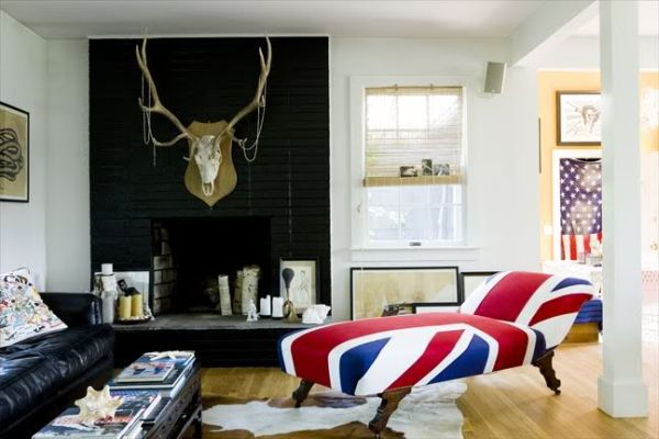 union jack m bel und deko ideen britisches flair. Black Bedroom Furniture Sets. Home Design Ideas