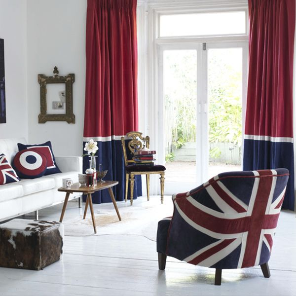 Union jack m bel und deko ideen britisches flair for Sessel union jack
