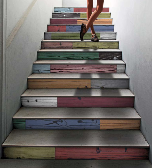 58 Cool Ideas For Decorating Stair Risers: 20 Ideen Für Wunderschönes Treppenhaus
