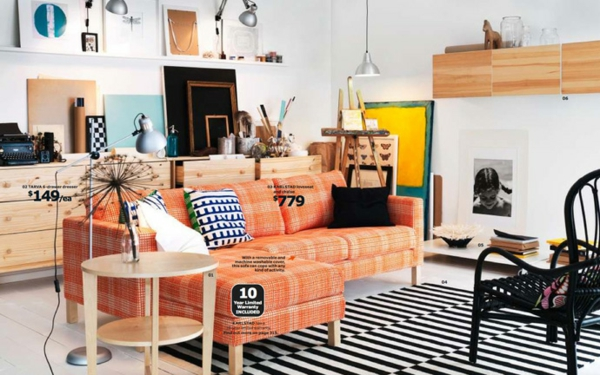 IKEA Katalogs Trends Ideen Inspiration couch
