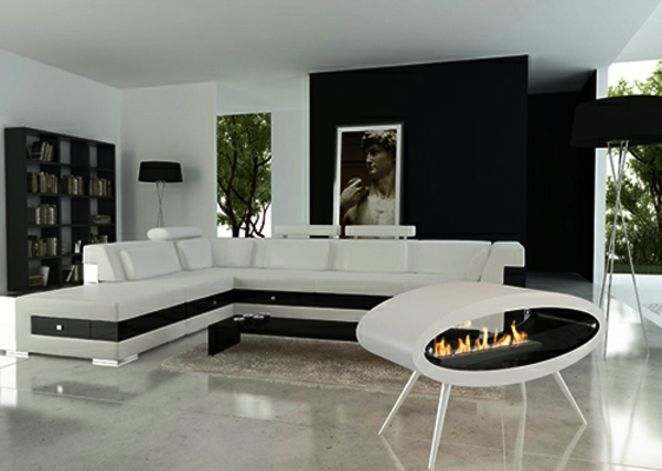 moderne ellipsenkamine h ngen von der decke oder liegen auf dem boden. Black Bedroom Furniture Sets. Home Design Ideas