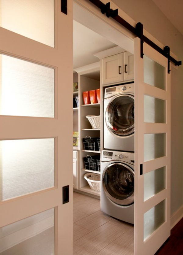 Laundry In Small Kitchen Design