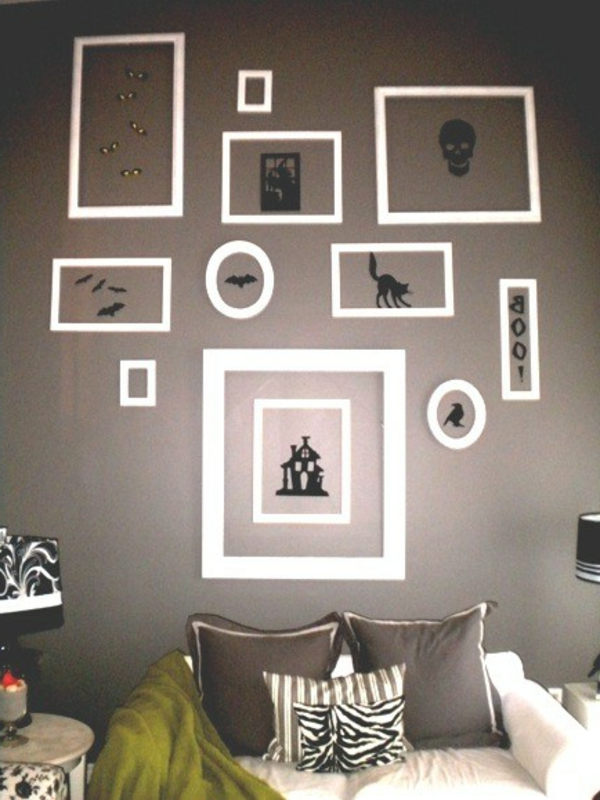36 geisterhafte halloween dekoration ideen f r ihr zuhause. Black Bedroom Furniture Sets. Home Design Ideas