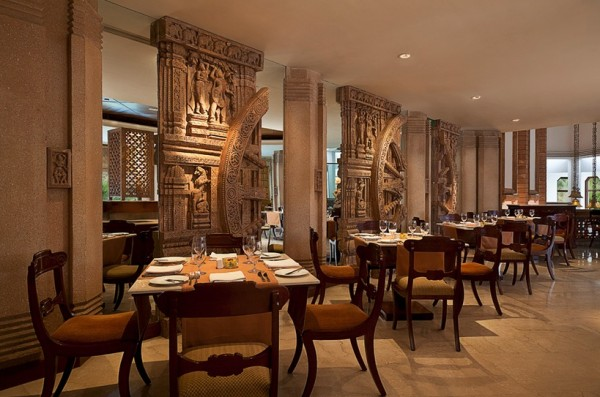 moderne architektur und hotels indien tradition innendesign restaurant