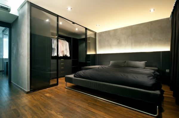 20 ideen f r stilvolle junggeselle schlafzimmer. Black Bedroom Furniture Sets. Home Design Ideas