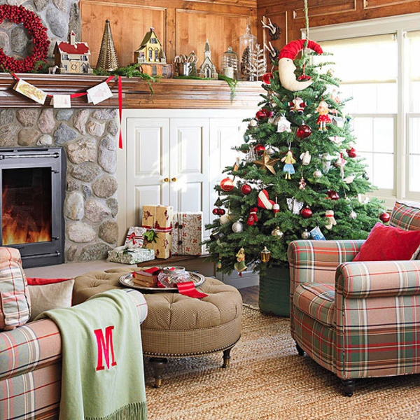 Best Christmas Decorations For Living Room
