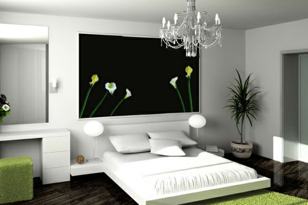 ideen und tipps f r zen atmosph re im schlafzimmer. Black Bedroom Furniture Sets. Home Design Ideas
