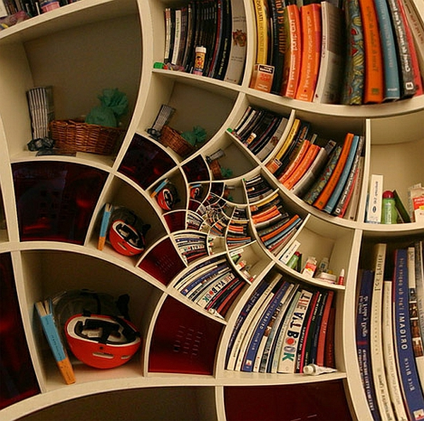 Architectural Design Bookshelves