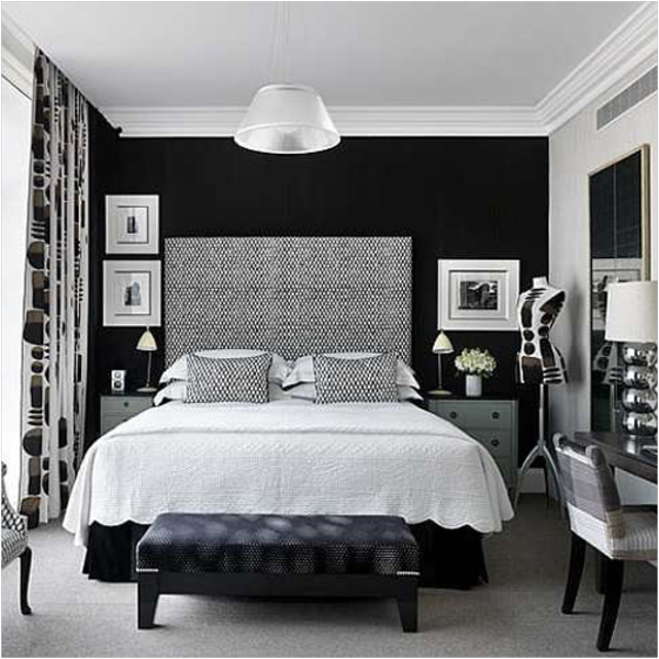 Black And Grey Bedroom