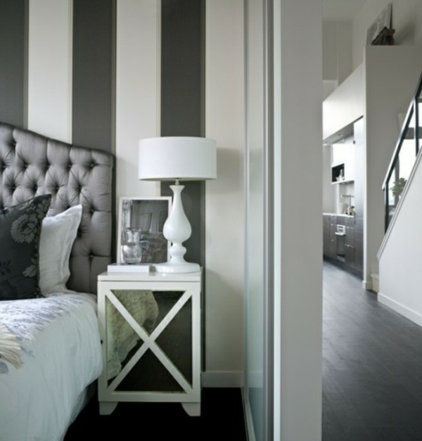 25 dekoration ideen f r die wand hinter dem bettkopfteil. Black Bedroom Furniture Sets. Home Design Ideas