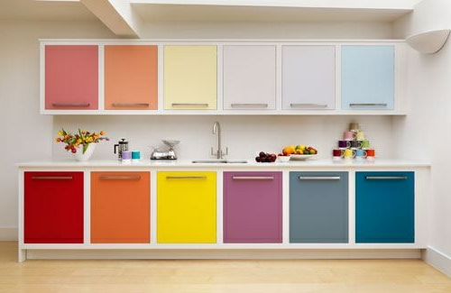 Kitchen Color Schemes With Light Brown Cabinets