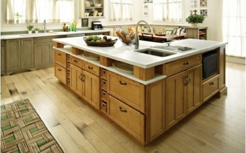 Kitchens Modern Wood