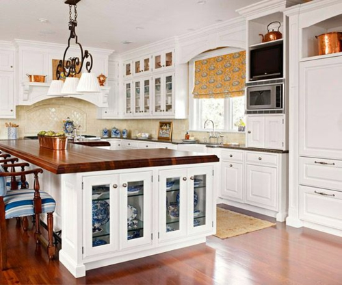 Image Result For White Distressed Kitchen
