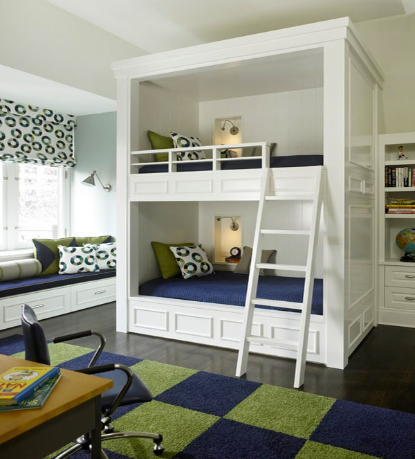 White Trundle Beds Withheadboards Used