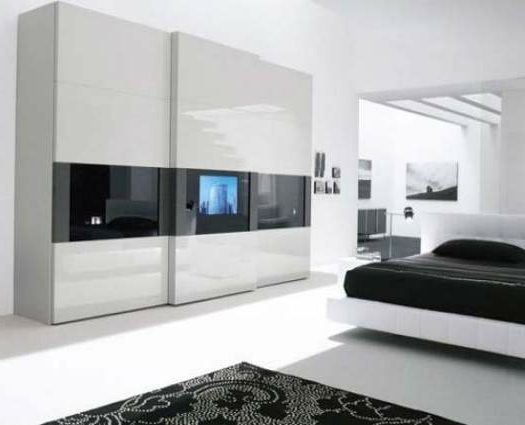 ein moderner kleiderschrank in ihrem schlafzimmer 15 tolle ideen. Black Bedroom Furniture Sets. Home Design Ideas