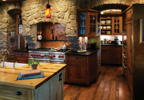 Green Country Kitchen Walls