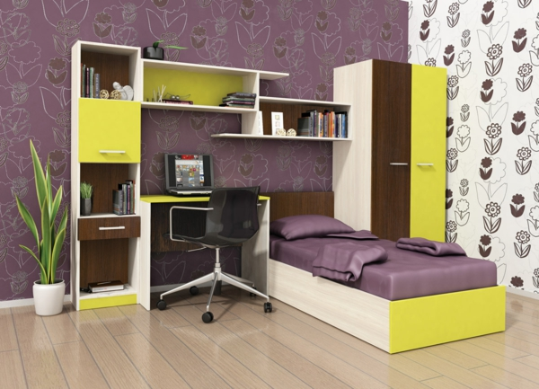 jugendzimmer gestalten eine herausforderung. Black Bedroom Furniture Sets. Home Design Ideas