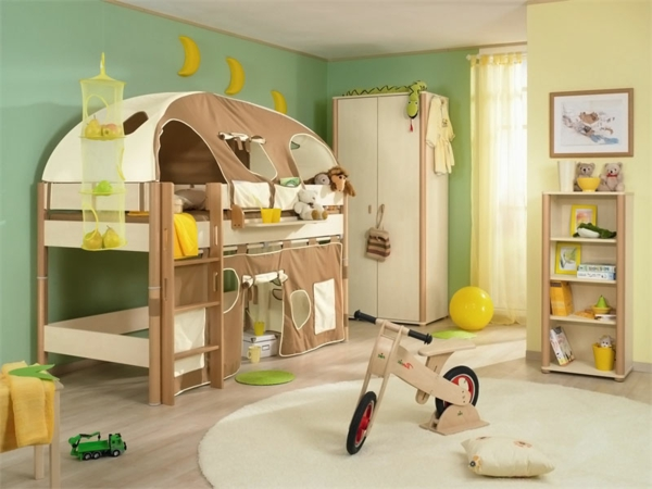 farbideen f r kinderzimmer bei der kinderzimmergestaltung. Black Bedroom Furniture Sets. Home Design Ideas
