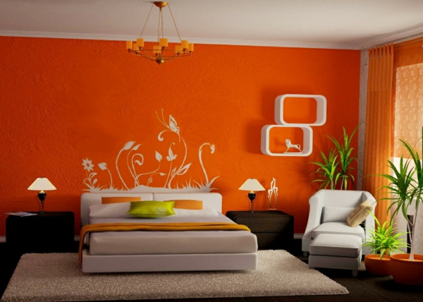 De.pumpink.com | Home Design Ideas Buch Wohnzimmer Orange Weis