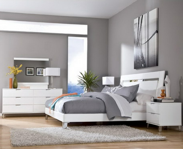 schlafzimmer w nde farblich gestalten braun. Black Bedroom Furniture Sets. Home Design Ideas