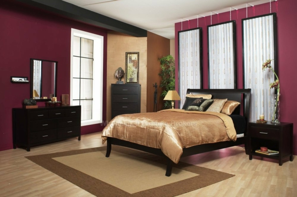 stilvolle farbkombinationen f r wandfarben. Black Bedroom Furniture Sets. Home Design Ideas