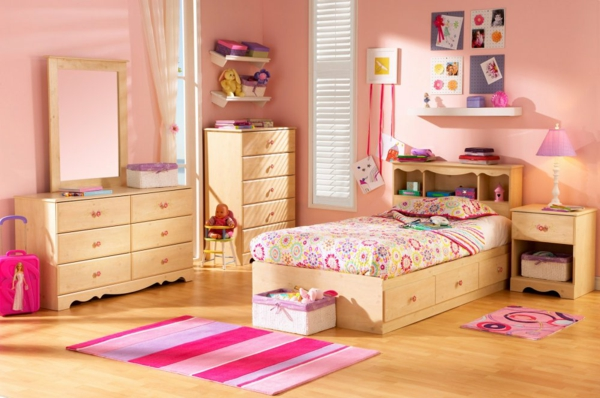kinderzimmergestaltung moderne farbideen f r das. Black Bedroom Furniture Sets. Home Design Ideas