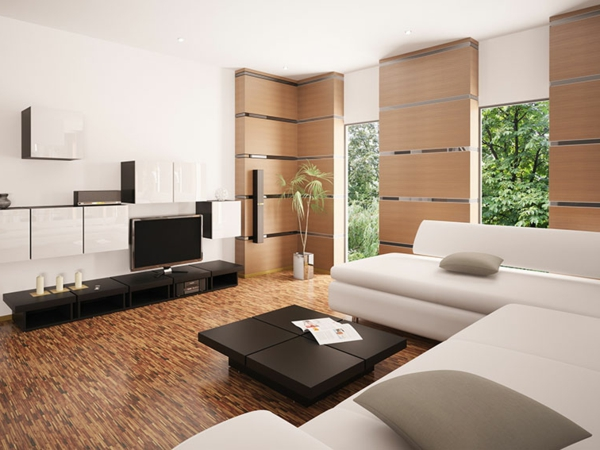 farbideen wohnzimmer f r einen modernen wohnzimmerlook. Black Bedroom Furniture Sets. Home Design Ideas