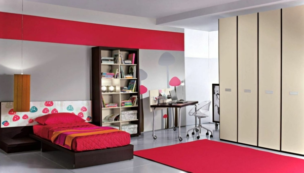 kinderzimmergestaltung moderne farbideen f r das kinderzimmer. Black Bedroom Furniture Sets. Home Design Ideas