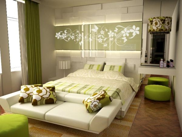 Farbideen f r schlafzimmer wollen sie eine attraktive for Beautiful bedroom decor ideas