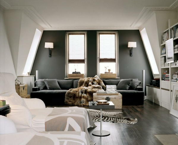 wandfarben ideen f r eine stilvolle und moderne wandgesteltung. Black Bedroom Furniture Sets. Home Design Ideas