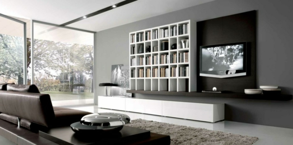 inneneinrichtung ideen trendfarbe grau f r das innendesign. Black Bedroom Furniture Sets. Home Design Ideas