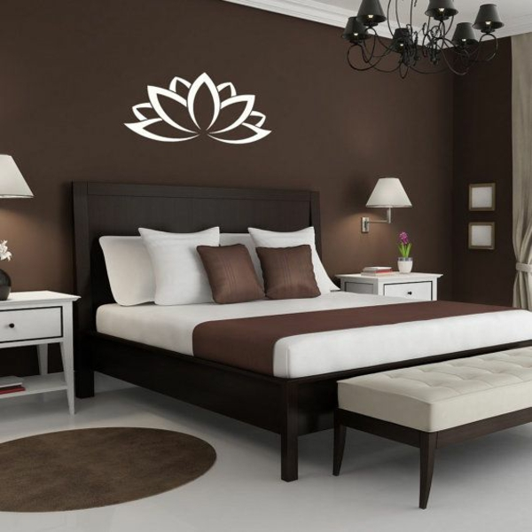 braunt ne als wandfarben wie kann man die braunen w nde. Black Bedroom Furniture Sets. Home Design Ideas