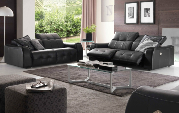 sofa mit relaxfunktion schenken sie sich komfort und erholung. Black Bedroom Furniture Sets. Home Design Ideas