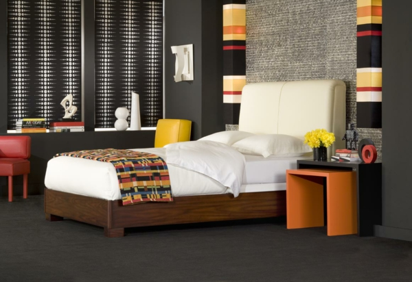 w nde streichen farbideen in dunklen schattierungen. Black Bedroom Furniture Sets. Home Design Ideas