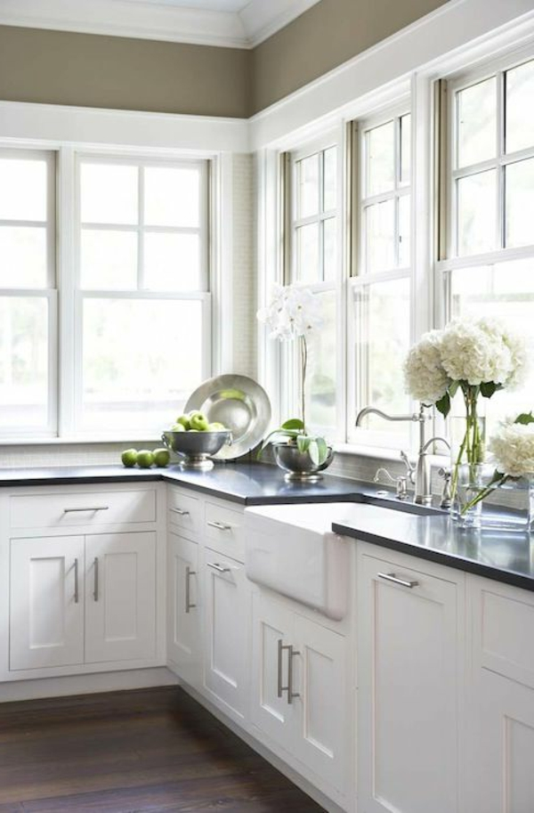Shaker White Kitchen Cabinets For Kitchencabinetking Com