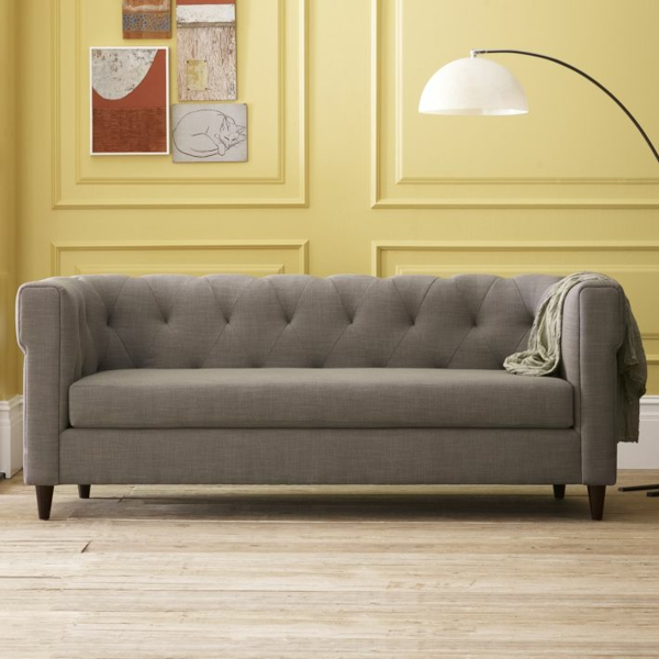 Gunstiges Sofa In Grau