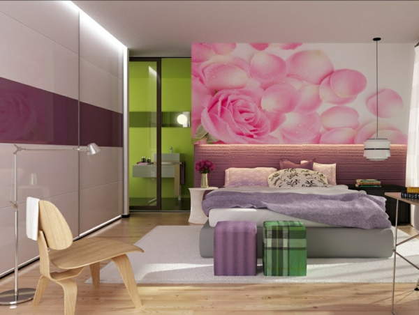 Coole tapeten f rs teenagerzimmer wundersch ne ideen for Teenager zimmer ideen