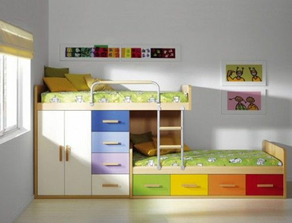 wohnideen f rs kinderzimmer farbige interieur l sungen. Black Bedroom Furniture Sets. Home Design Ideas