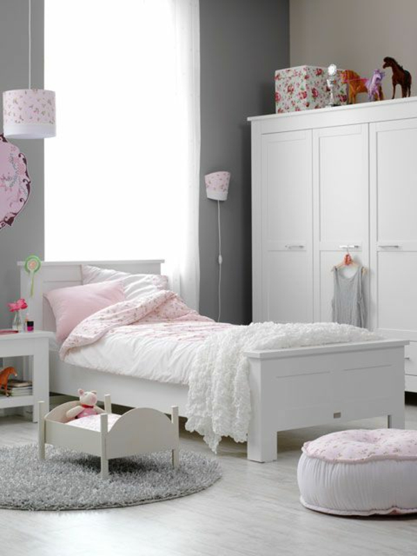schlafzimmer wandfarbe grau. Black Bedroom Furniture Sets. Home Design Ideas