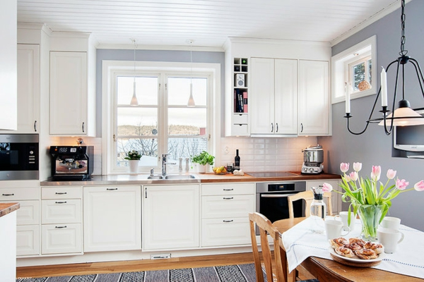 Kitchens With Light Green Walls